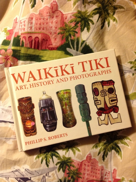 Phillip S Roberts Waikiki tiki book hawaii