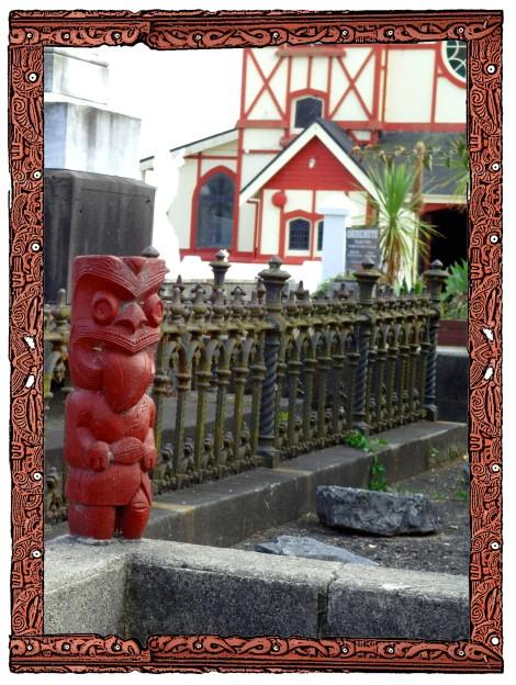 Ohinemutu Rotorua New Zealand