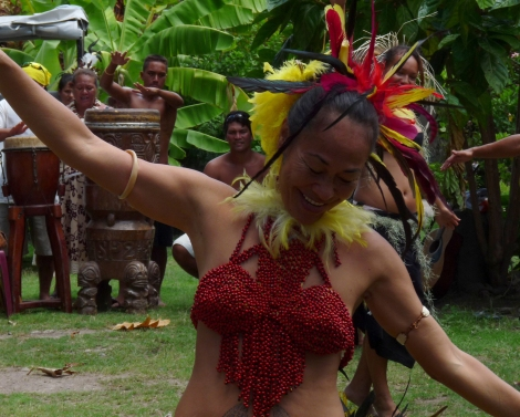 Dancer Ua pou Hakahau Marquesas Islands Polynesia