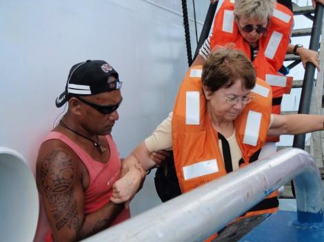 Aranui 3 crew Marquesas Islands Polynesia