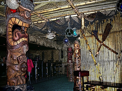 Frankies Tiki Room Las Vegas United States